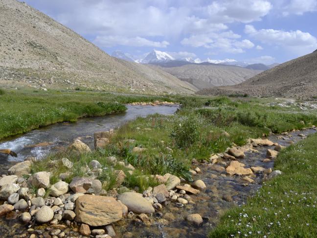 Travail de terrain au Tadjikistan