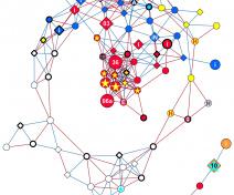 réseau de co-expression de gènes (Cuello et al, accepté)