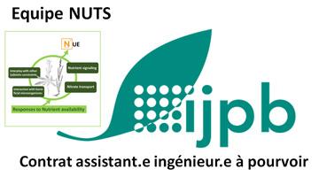 Un Contrat d'assistant.e ingénieur.e  dans le domaine biocontrôle /biostimulation