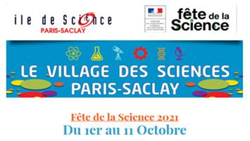 L'IJPB à la fête de la science Paris-Saclay avec « Ile de Science »